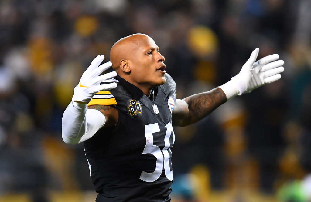 ryan shazier was an outside and inside linebacker