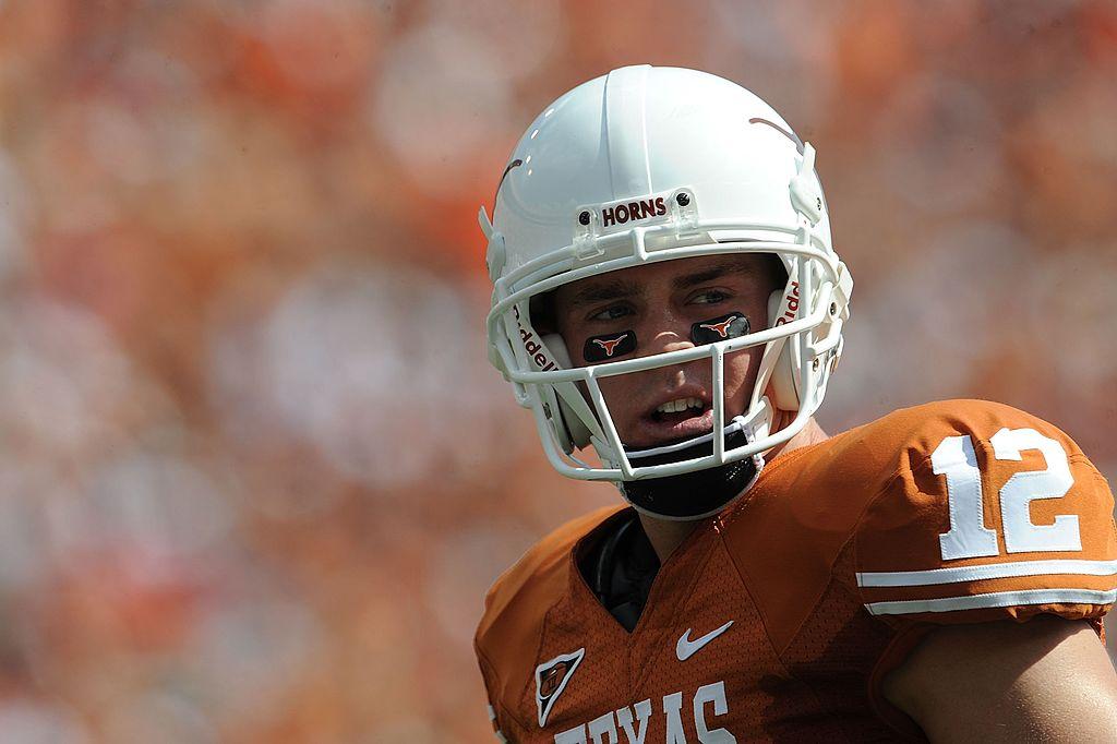 colt mccoy greatest college qbs ever
