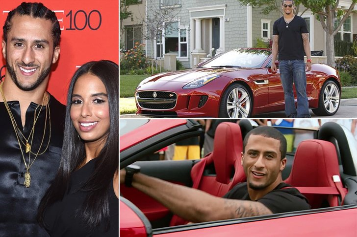 Kaepernick's Ride Comes In At $100k