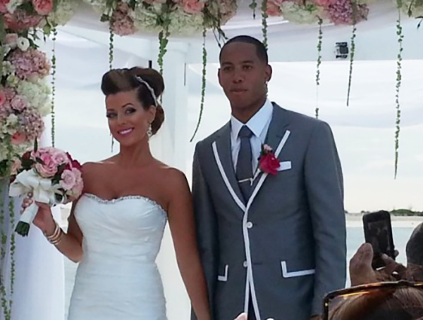 Devin Harris and Meghan Allen