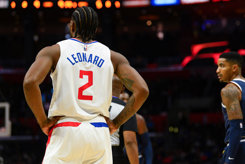 Leonard made the move over to the Clippers in the 2019 offseason.