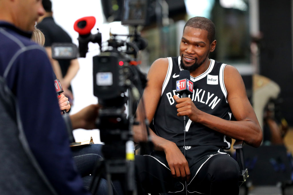 He moved over to Golden State and won two NBA titles before signing with the Brooklyn Nets in the summer of 2019.