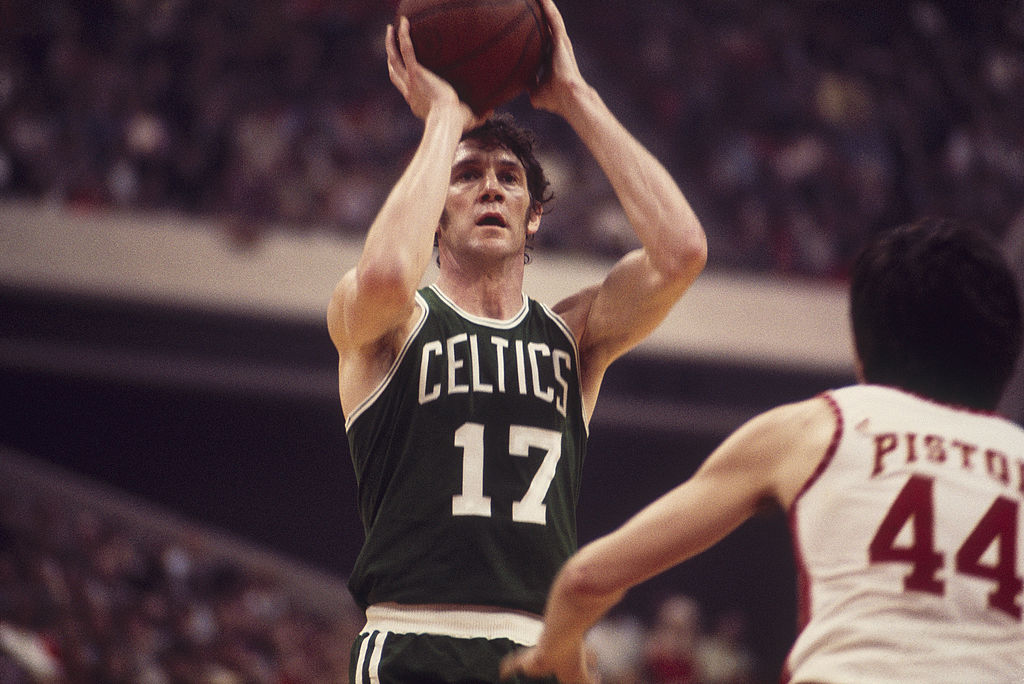 The 13-time all-star was inducted into the NBA Hall of Fame in 1984.
