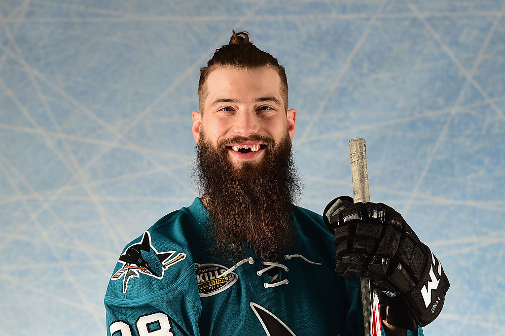 Brent Burns' Megawatt Grin