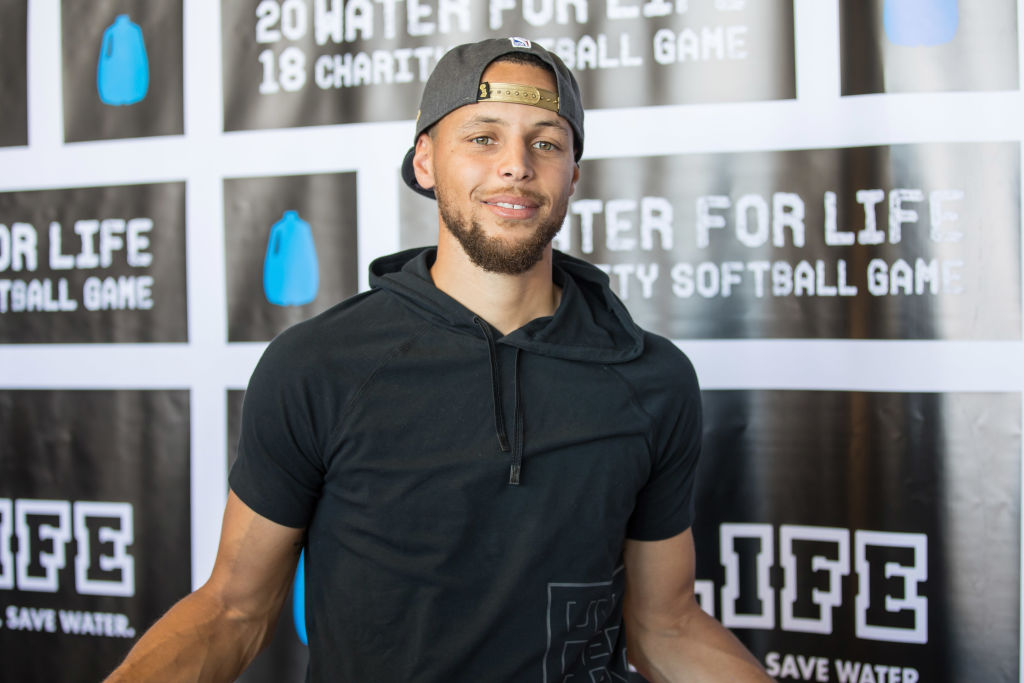 stephen curry supports several charities