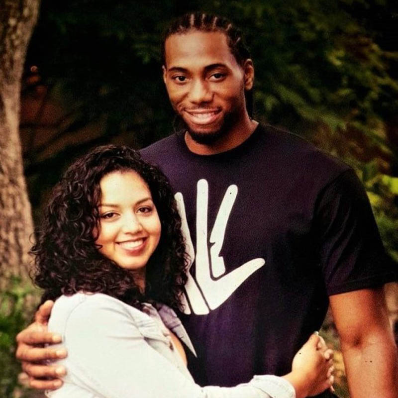 Kawhi-with wife