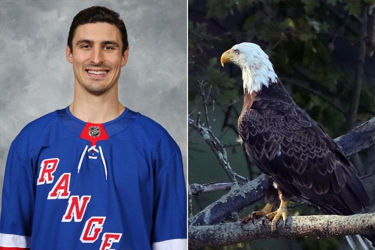 Chris Kreider Has The Neck Of An Eagle