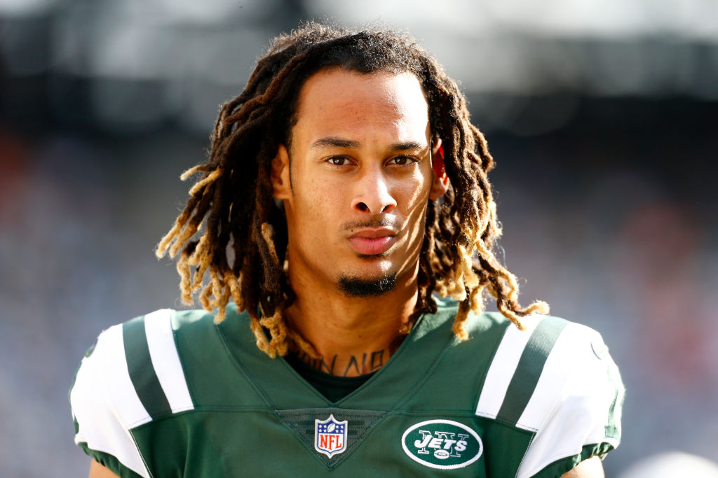 robby anderson of the new york jets