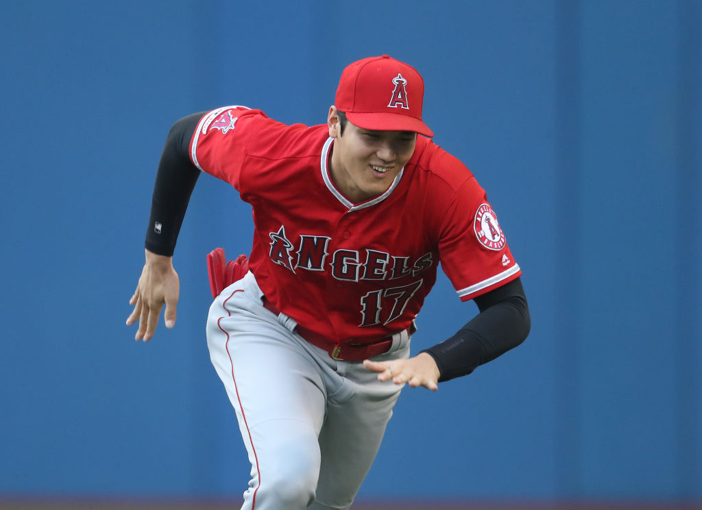 shoei ohtani athletes to see play once