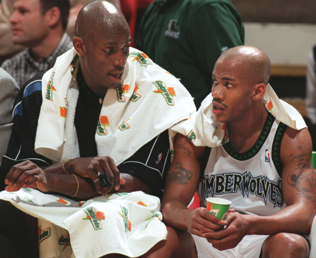 Garnett Gets A Running Mate