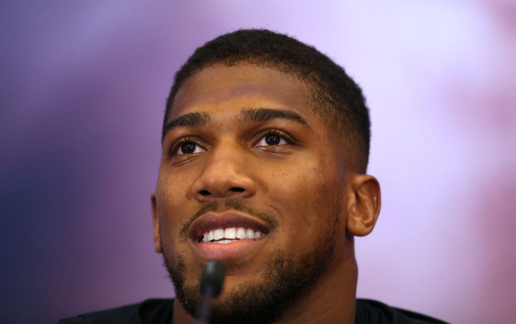 anthony joshua highest paid athletes