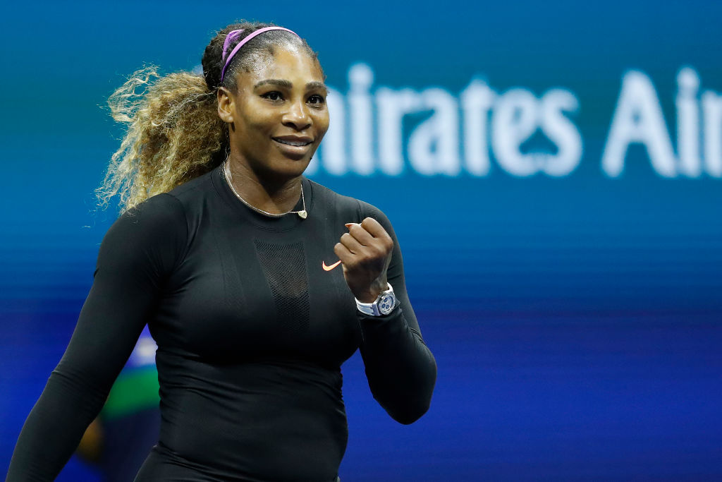 serena williams athletes to see play once