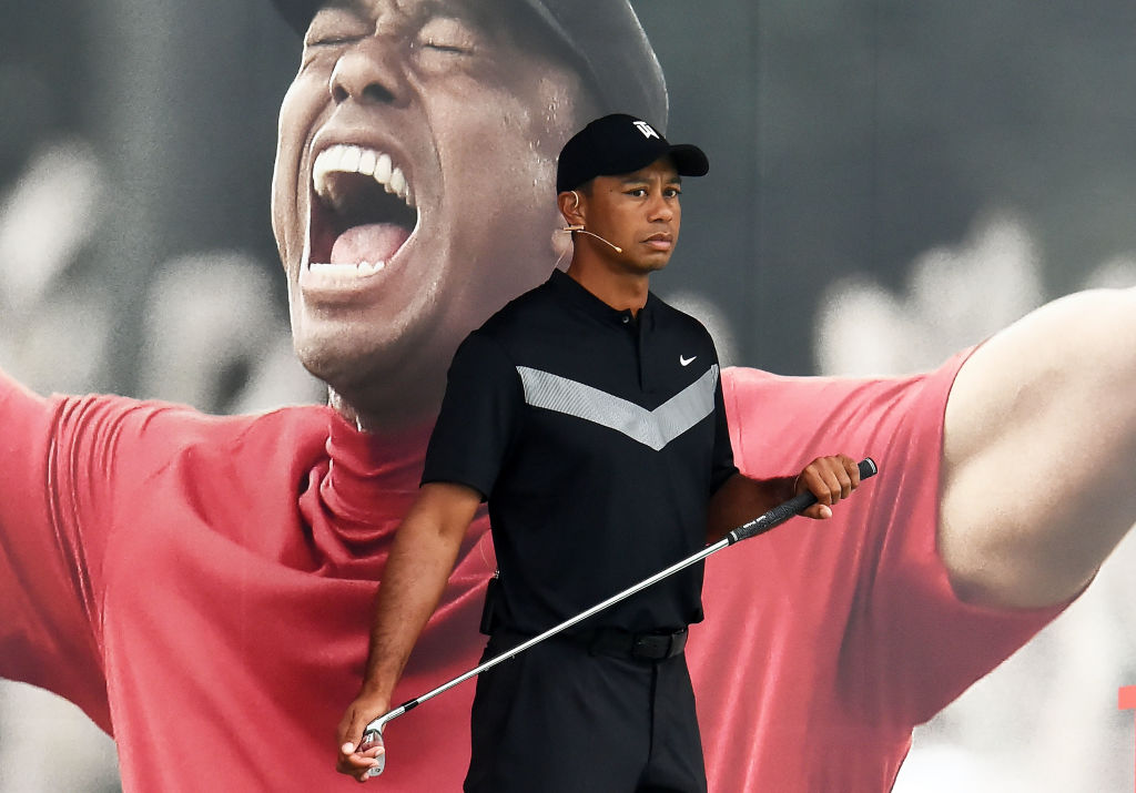 tiger woods athletes to see play once