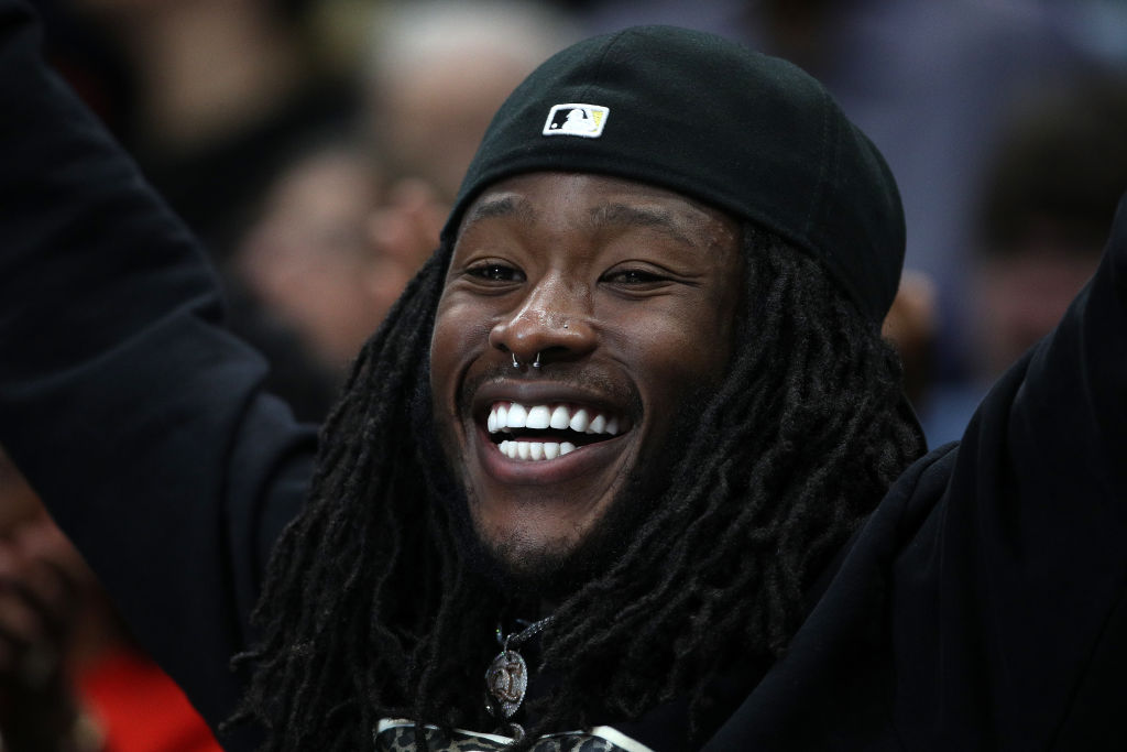 alvin kamara of the new orleans saints