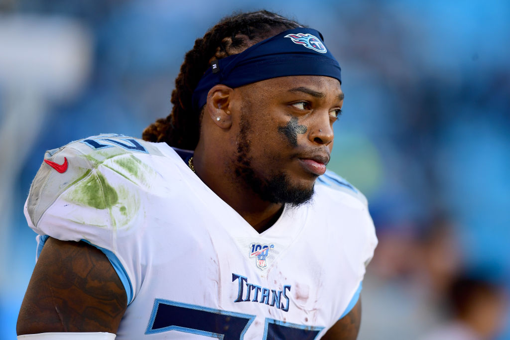 derrick henry of the Tennessee titans