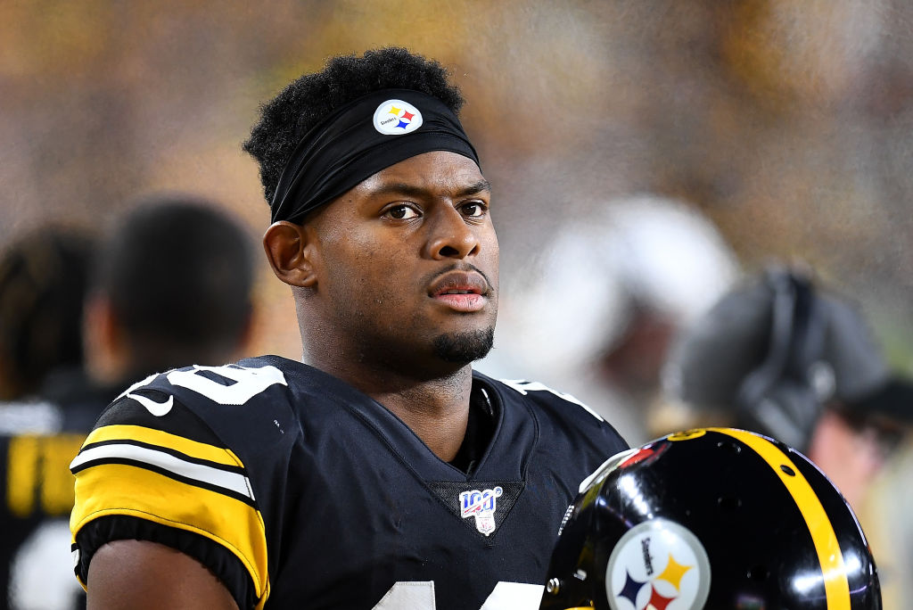 juju smith schuster of the pittsburgh steelers