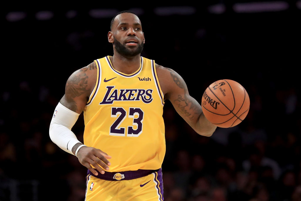 lebron james athletes to see play once