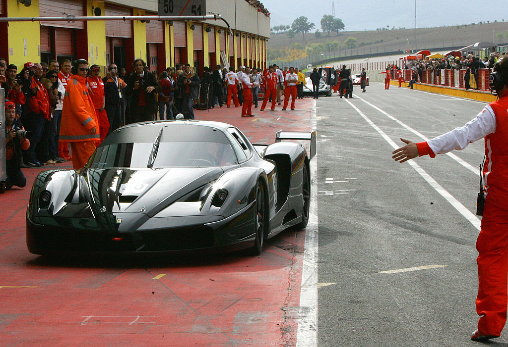 Black Ferrari FXX