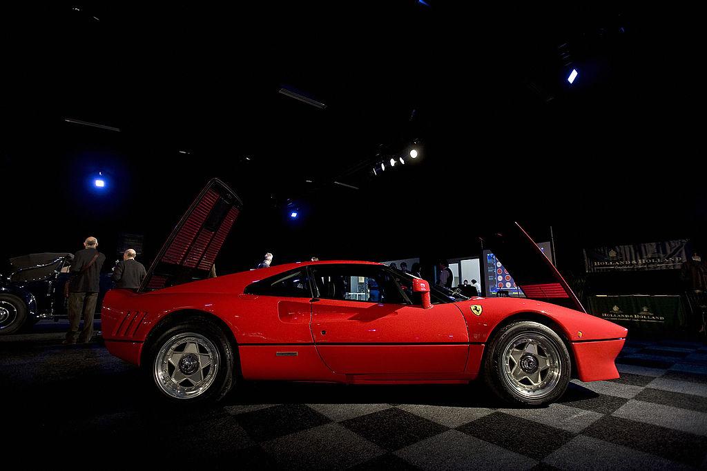 Red Ferrari 280