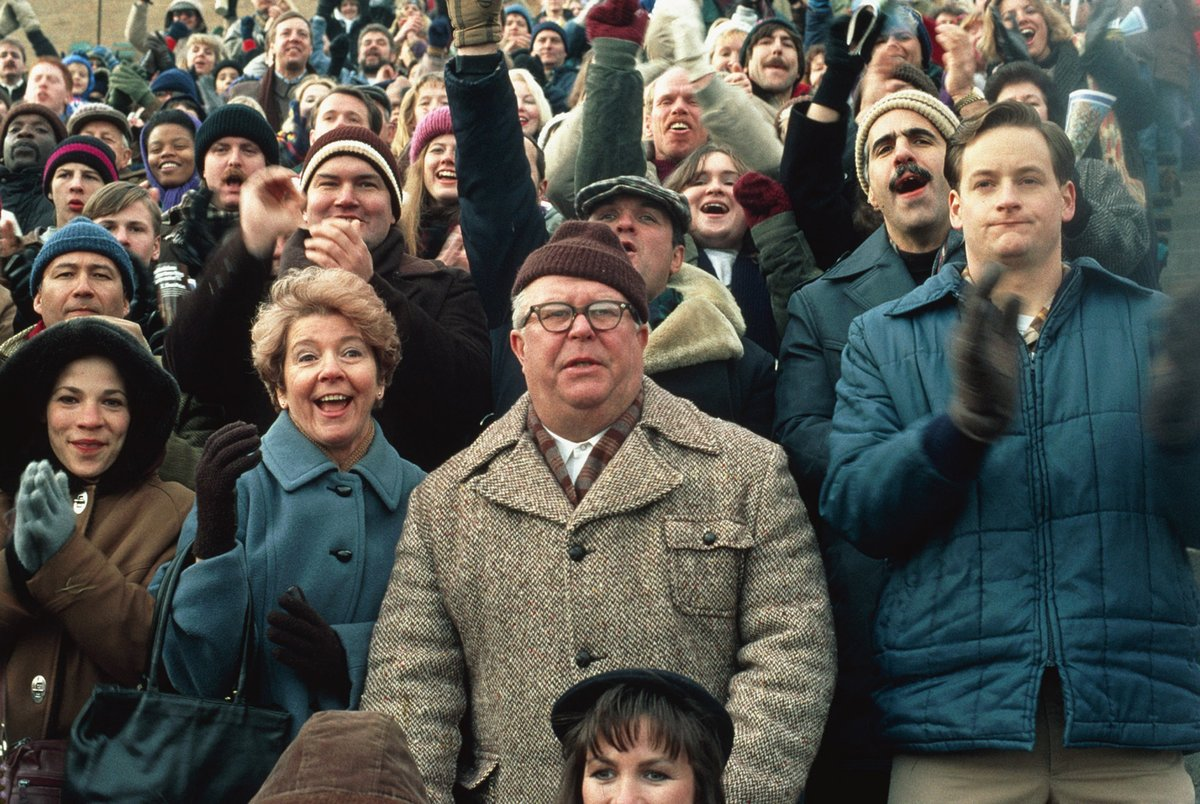rudy's father in the crowd