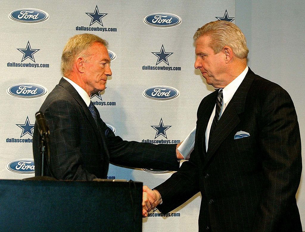 jerry jones and bill parcells