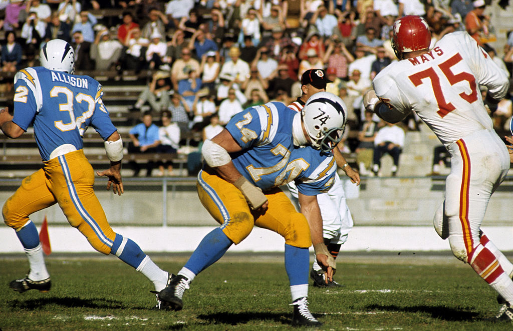 san diego chargers in 1966