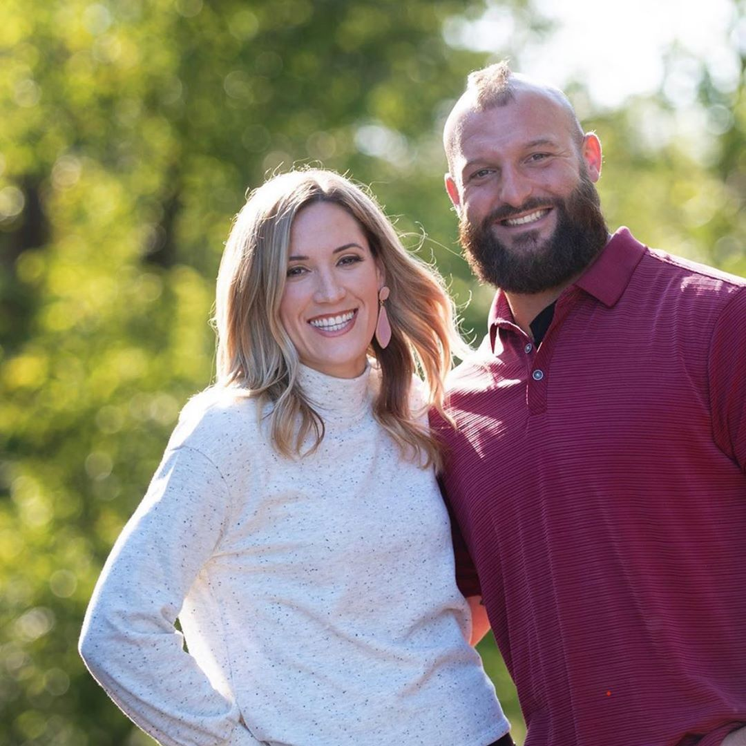 Anthony Sherman and his wife