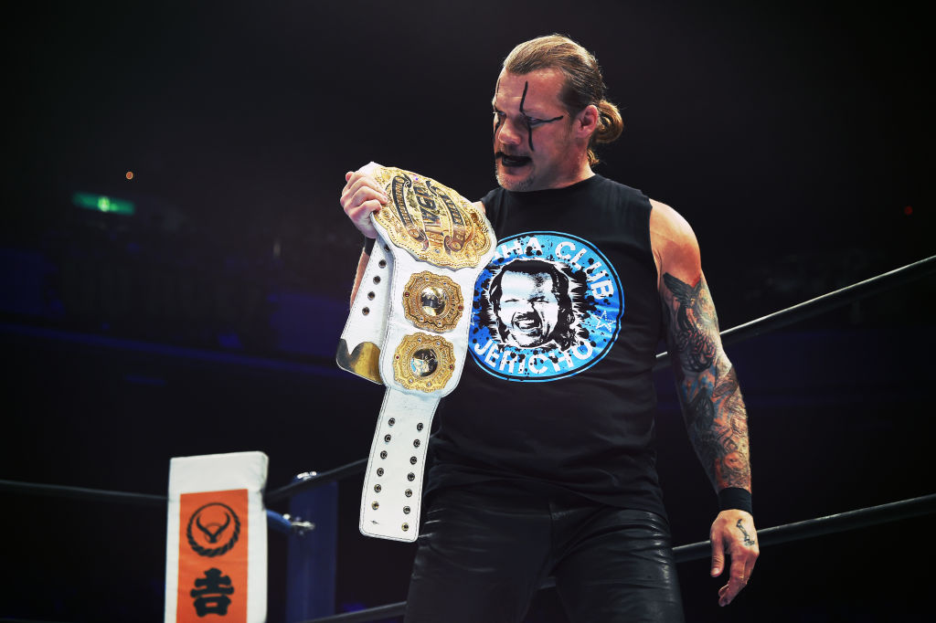 chris jericho titles are aplenty