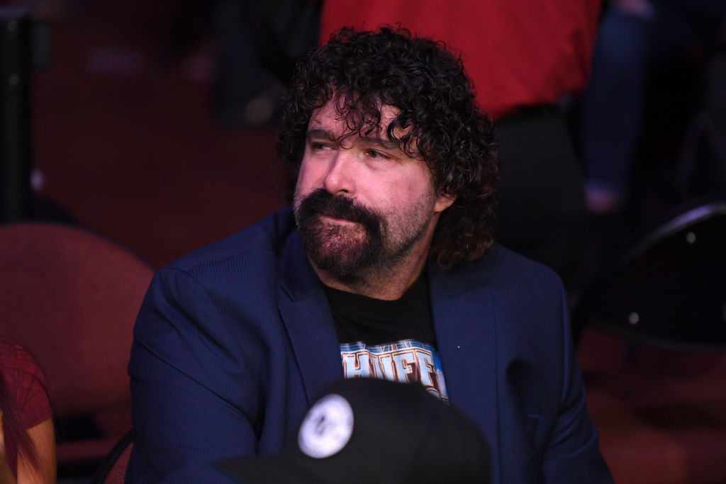 mick foley looking sad