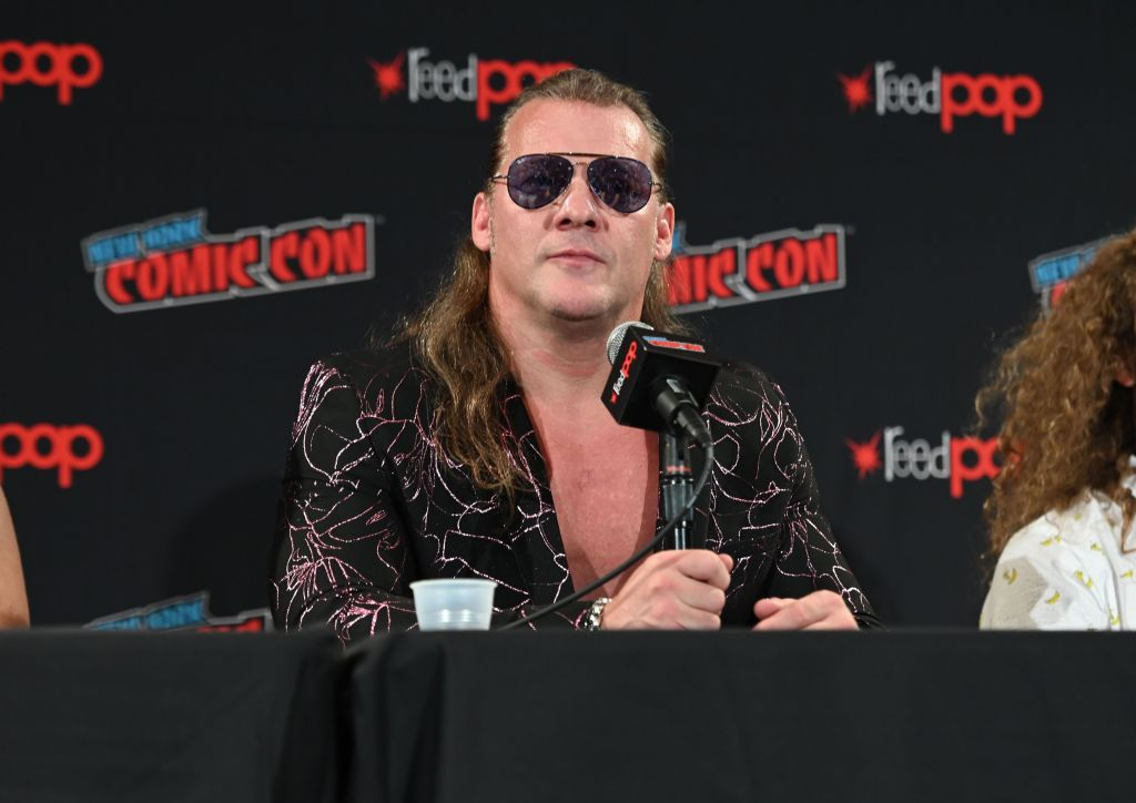 chris jericho introducing the AEW
