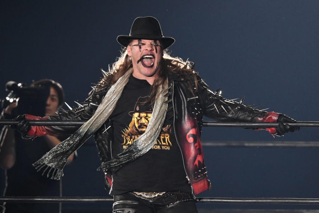 chris jericho in the ring in japan