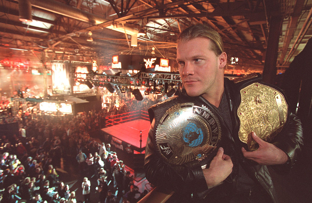 chris jericho has won lots of belts