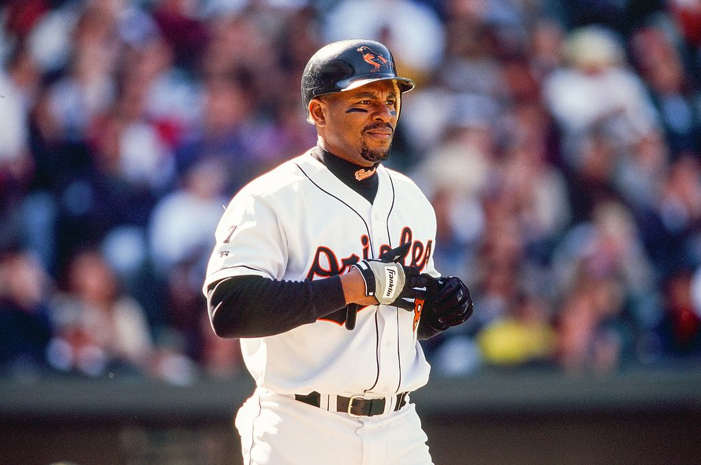 albert belle with the orioles