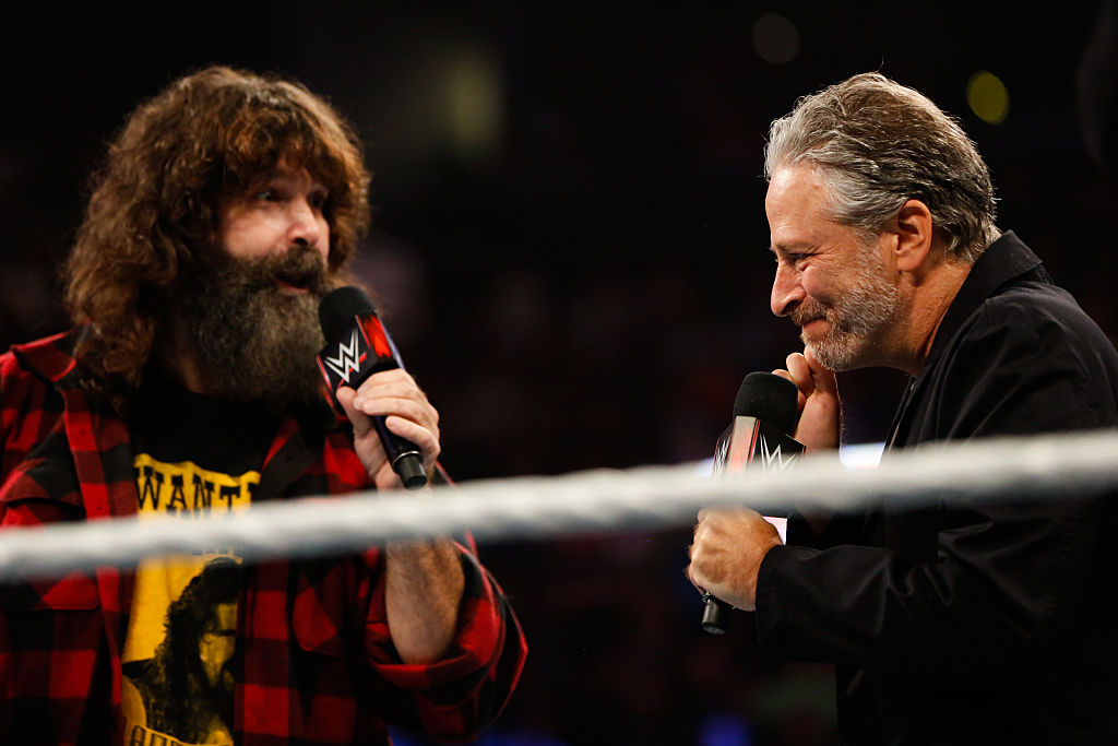 mick foley and john stewart