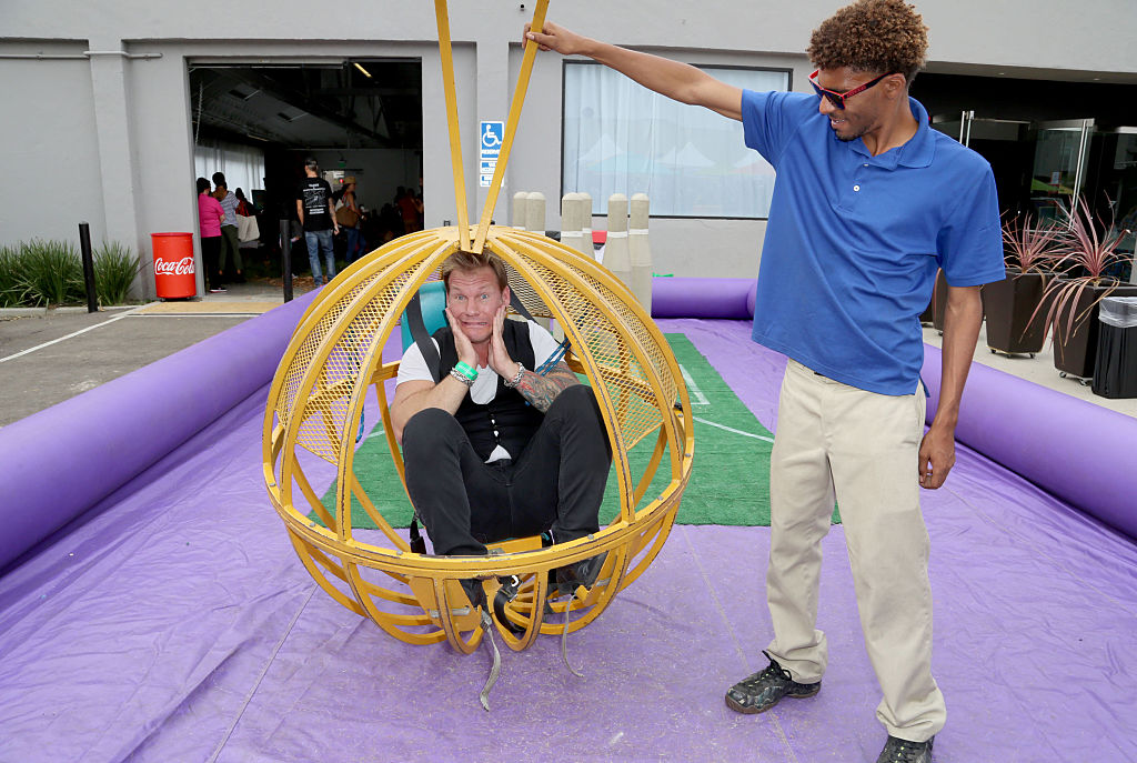 chris jericho in a ball