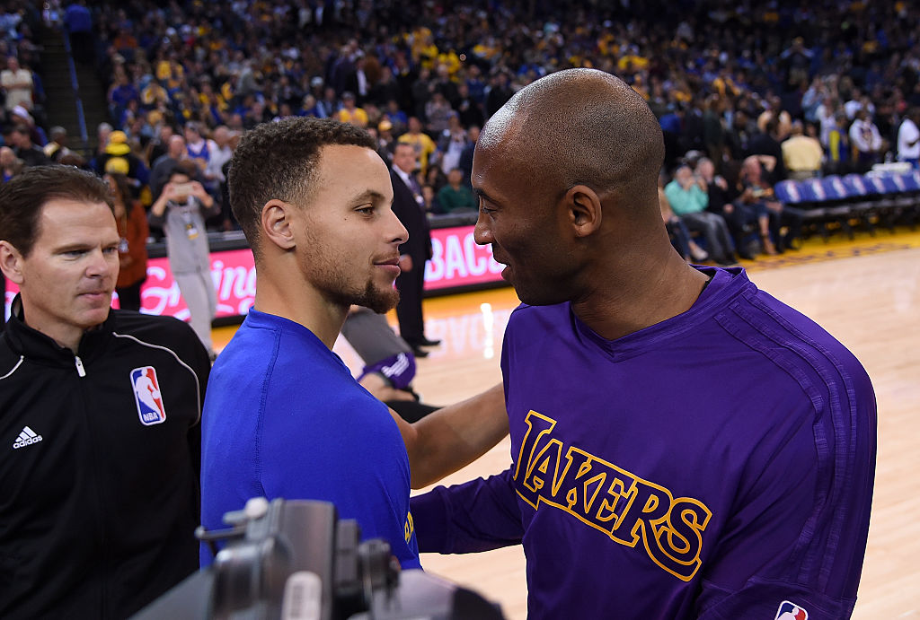 kobe and curry