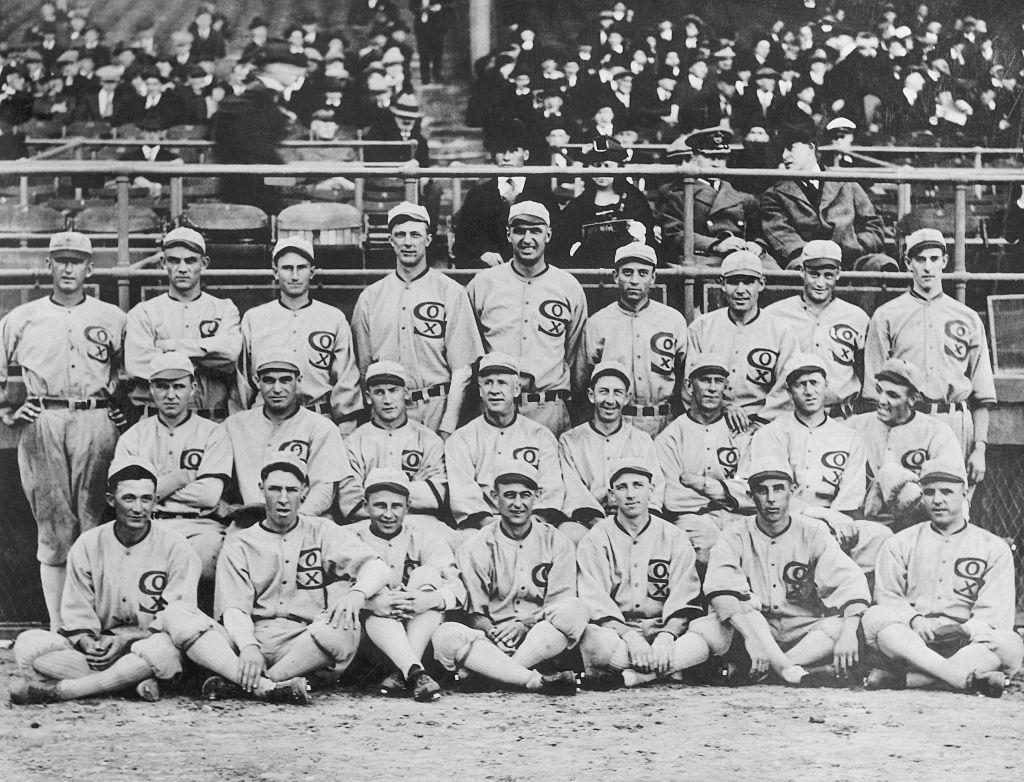 1919 black sox scandal team