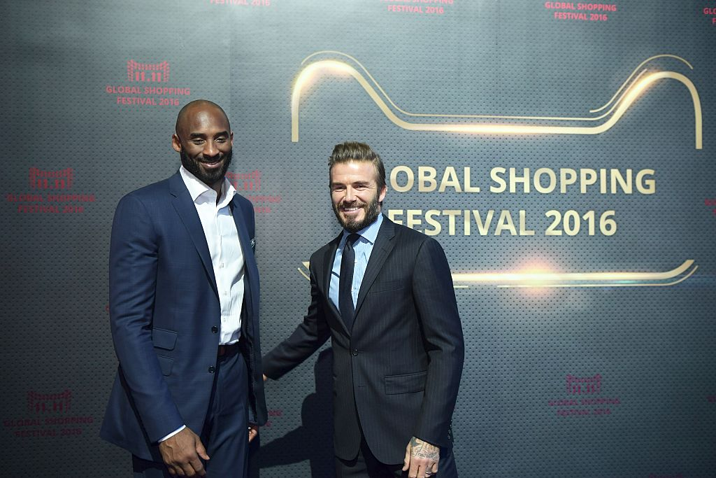 beckham and kobe together
