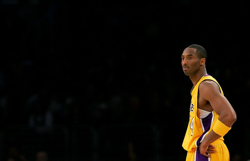 kobe bryant standing on the court in Miami