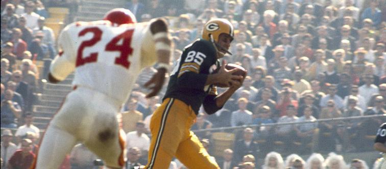 first super bowl touchdown catch