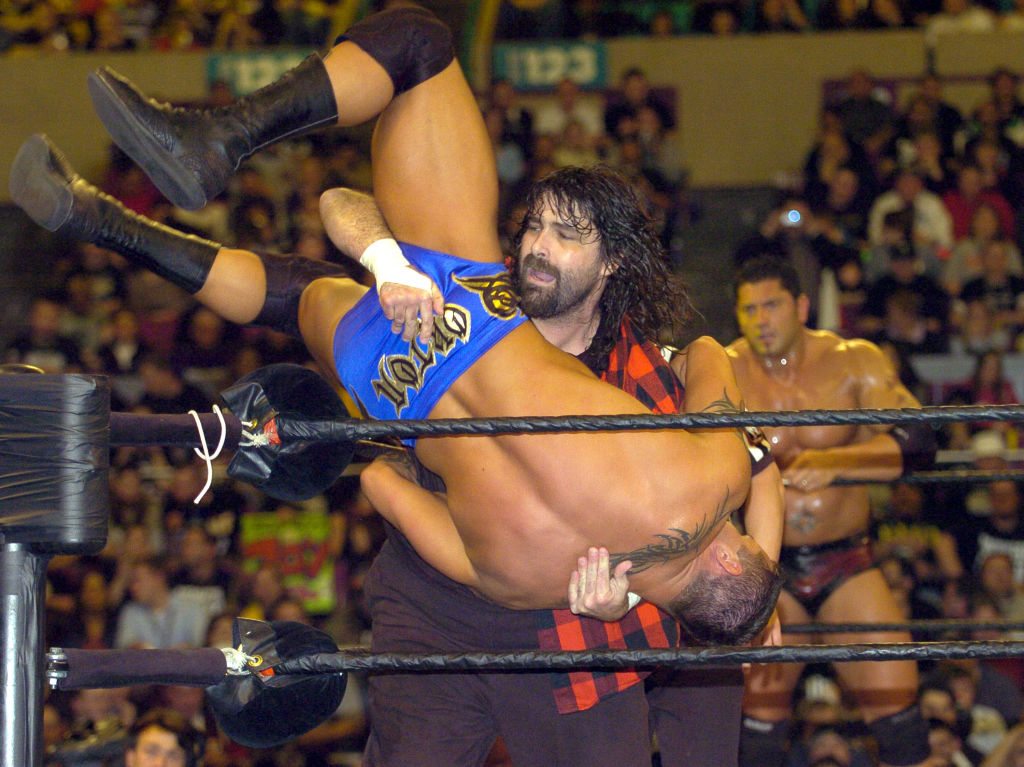 mick foley wrestling
