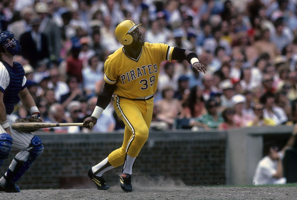 dave parker of the pittsburgh pirates