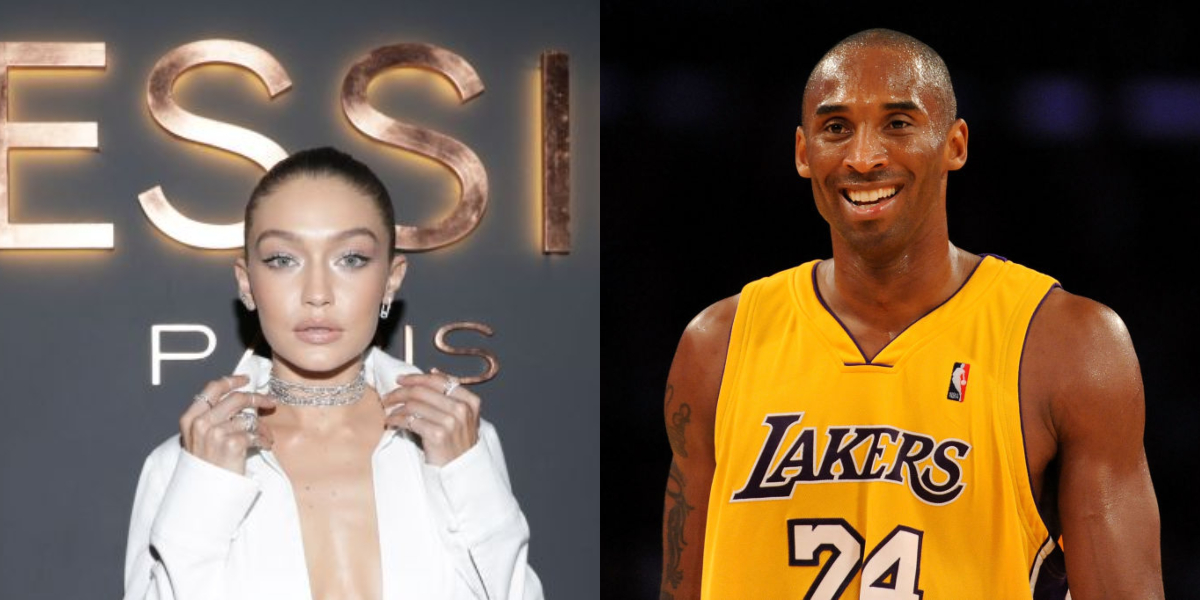 gigi and kobe side by side