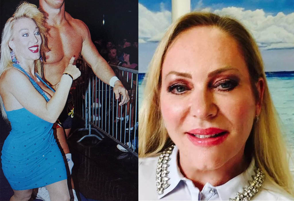 lady blossom wwe then and now