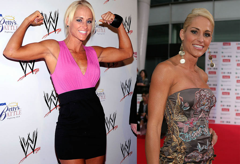 michelle mccool wwe then and now