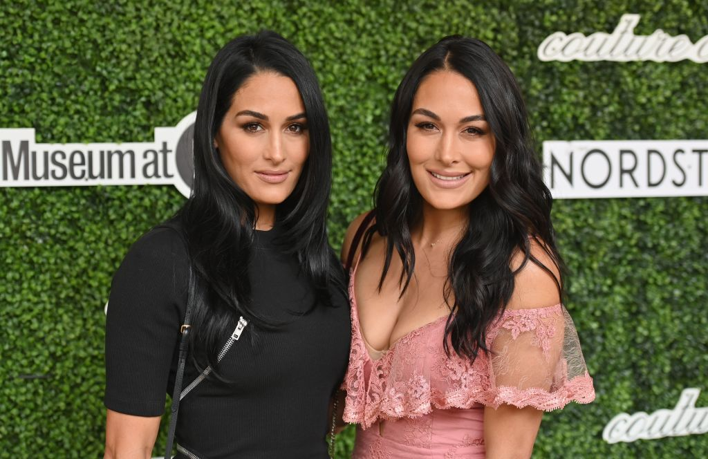 'The Bella Twins' attend the 2019 Couture Council Award Luncheon