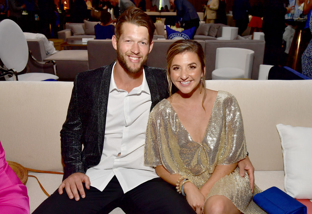 clayton and ellen kershaw posing for a photo