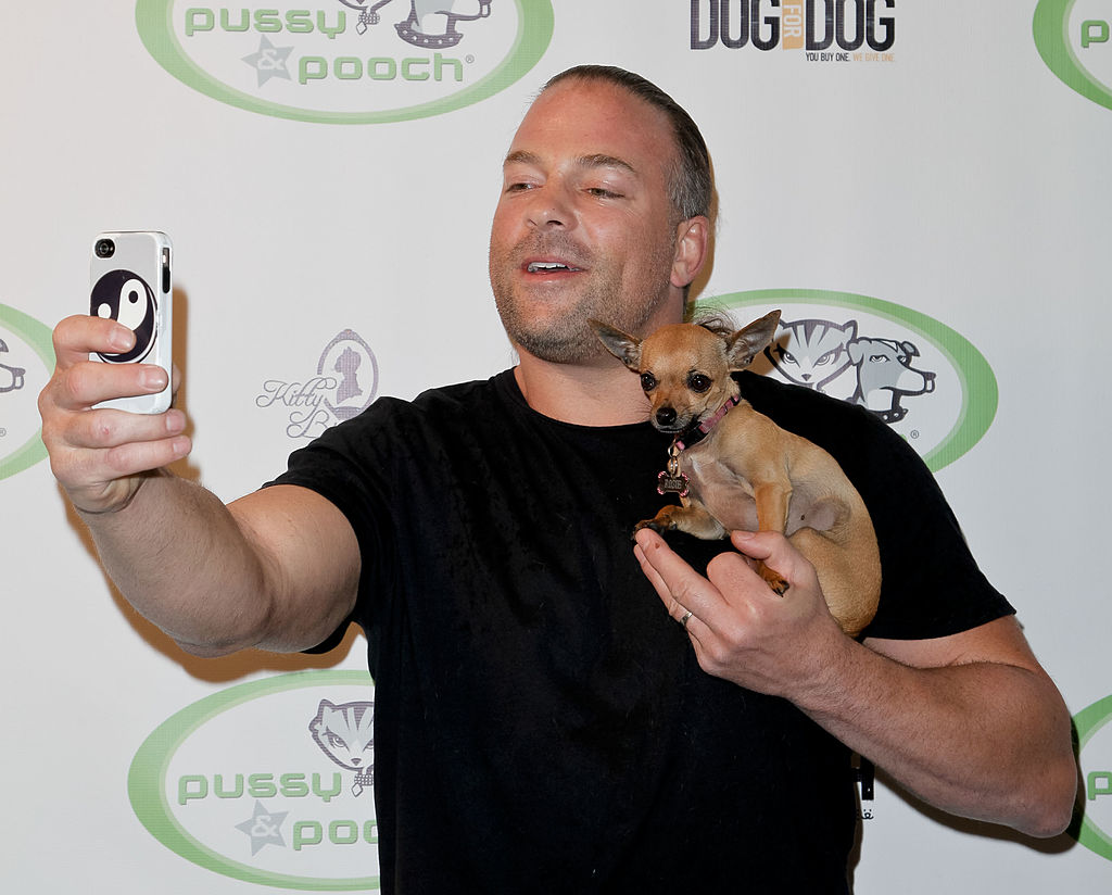 rob van dam puppy picture