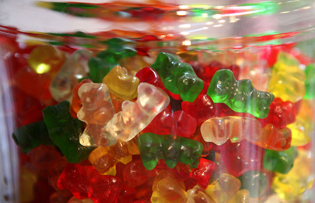 gummy bears help athletes