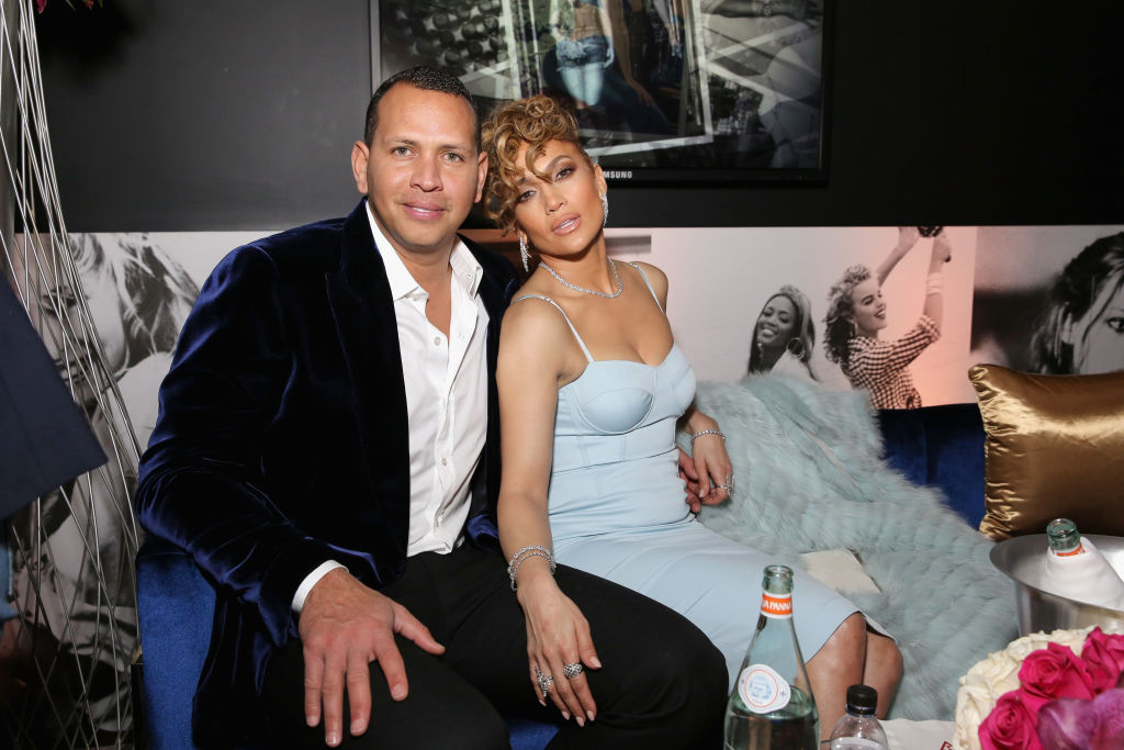 a posed photo of alex rodriguez and jennifer lopez